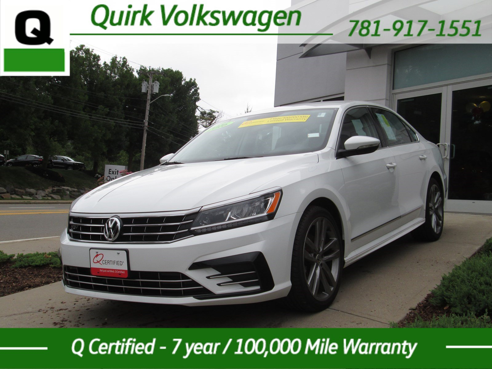 certified pre owned 2016 volkswagen passat 1 8t r line w comfort pkg 4dr car in braintree. Black Bedroom Furniture Sets. Home Design Ideas