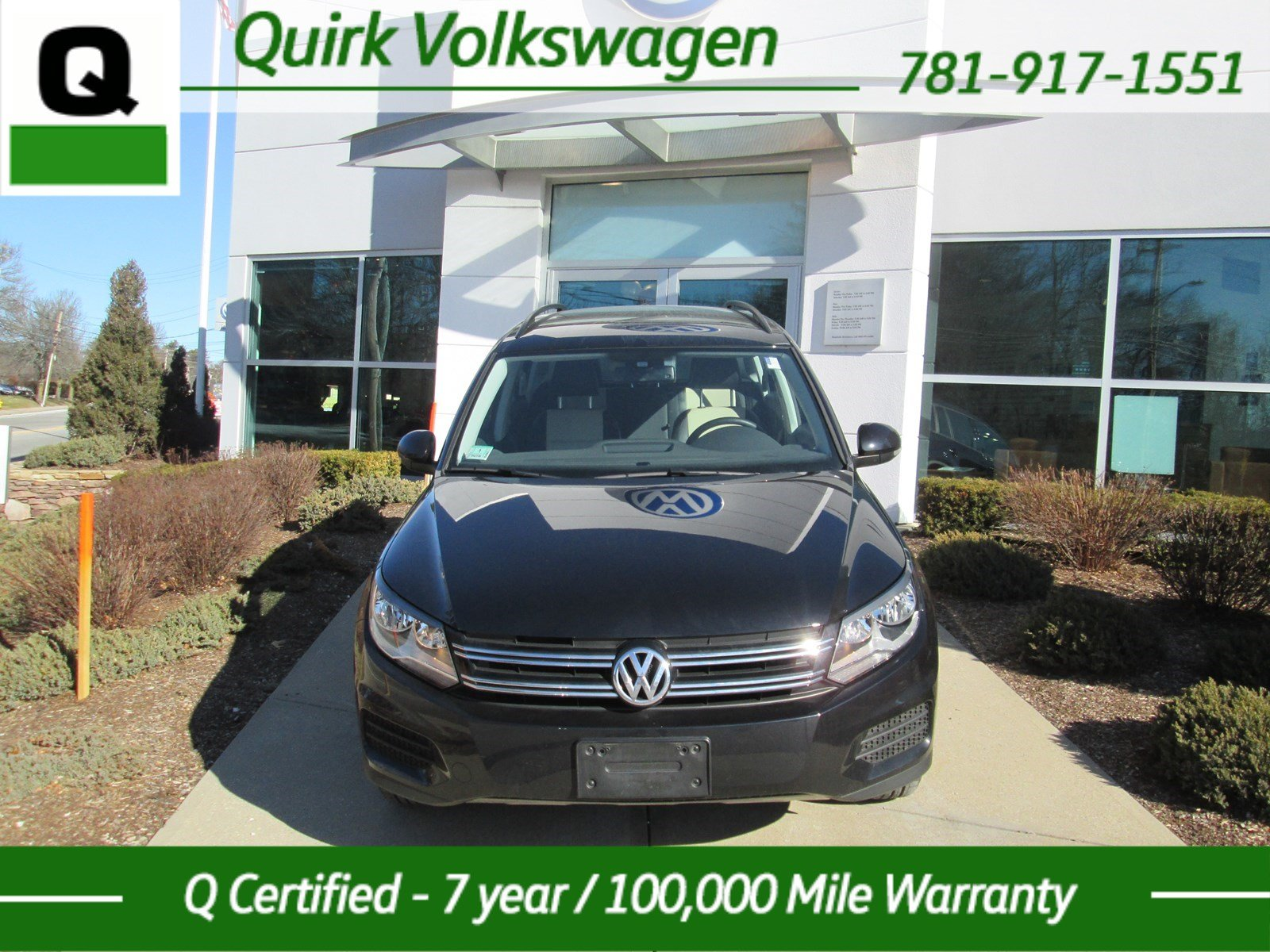 certified pre owned 2017 volkswagen tiguan limited sport utility in braintree v34791a quirk. Black Bedroom Furniture Sets. Home Design Ideas